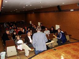 Cacabelos: Fundación de la Plataforma Bierzo Aire Limpio (8/5/08).