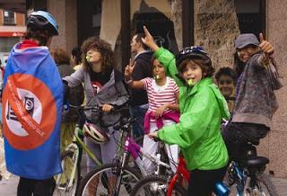 I Marcha ciclista reivindicativa ¡Carriles bici, ya! ¡Transporte urbano sostenible! (19/09/09)
